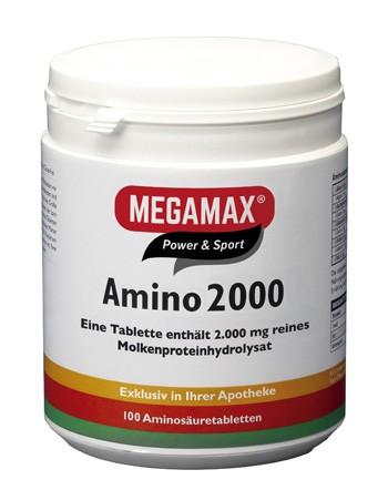 Amino 2.000 Molkenproteinhydrolysat 100 Tbl.