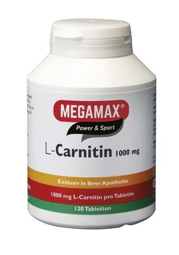 L-Carnitin 1.000 mg 120 Tbl.