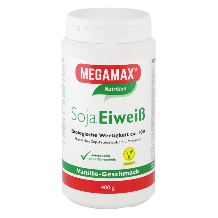 Soja-Eiweiß + Taurin + L-Methionin Vanille 400 g