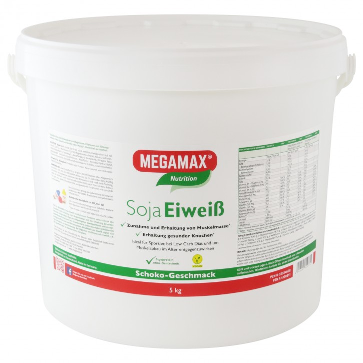 Soja-Eiweiß + Taurin + L-Methionin Schoko 5 kg
