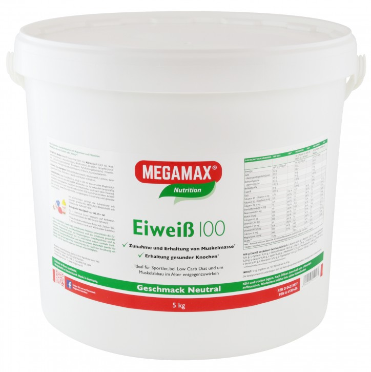 Eiweiß 100 Neutral 5 kg