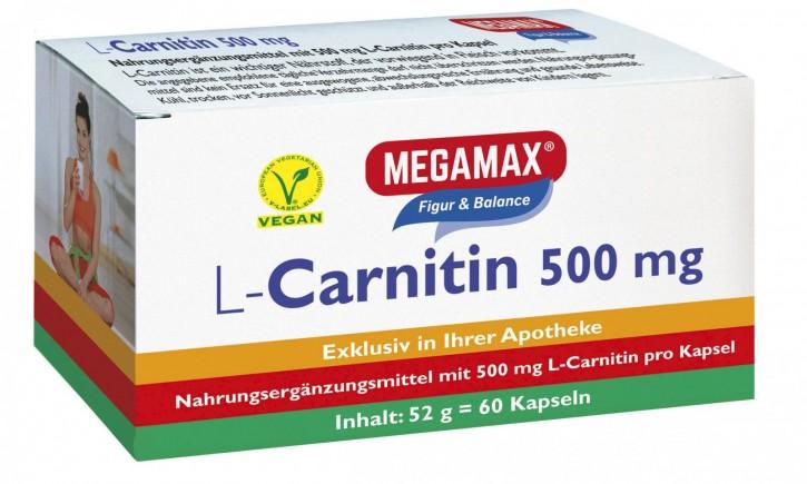 L-Carnitin 500 mg (Kapseln)