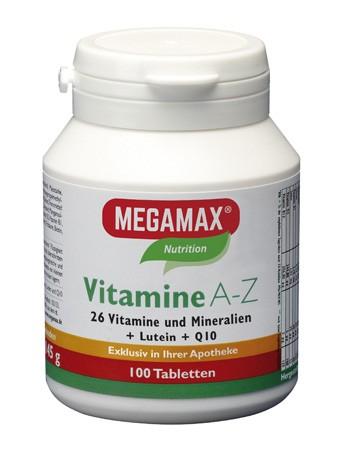 Vitamine A-Z + Q10 + Lutein