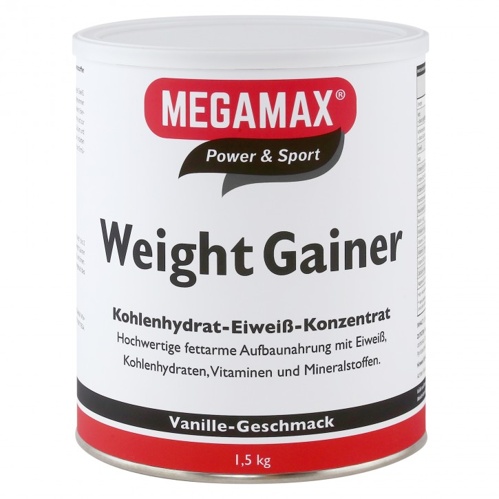 Weight Gainer Vanille 1,5 kg