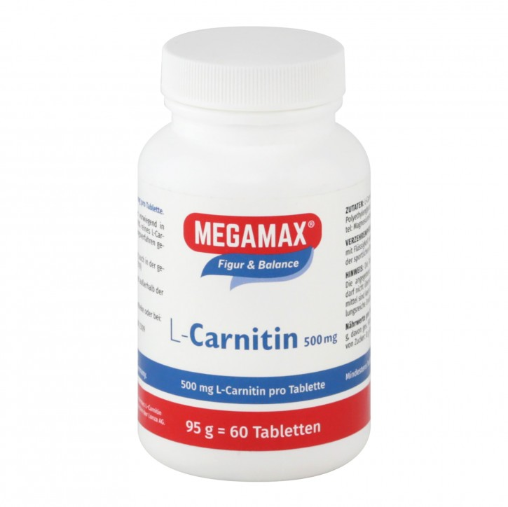 L-Carnitin 500 mg 60 Tbl.
