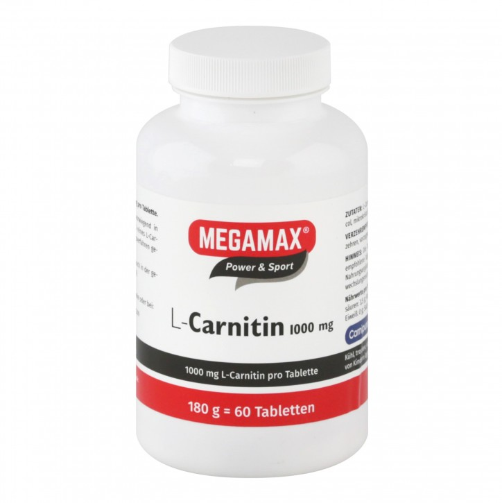 L-Carnitin 1.000 mg 60 Tbl.
