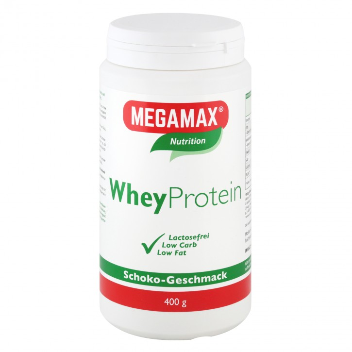 Whey Protein (Molkeneiweiß-Isolat) lactosefrei Schoko 400 g