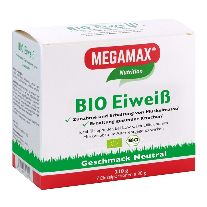 Bio Eiweiß  Neutral 7 x 30 g