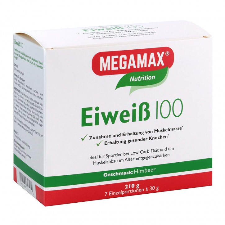 Eiweiß 100 Himbeere 7 x 30 g