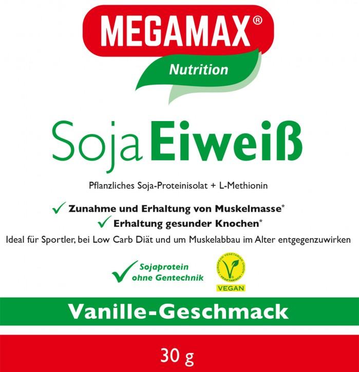 Soja-Eiweiß + Taurin + L-Methionin Vanille Einzelportion 30 g