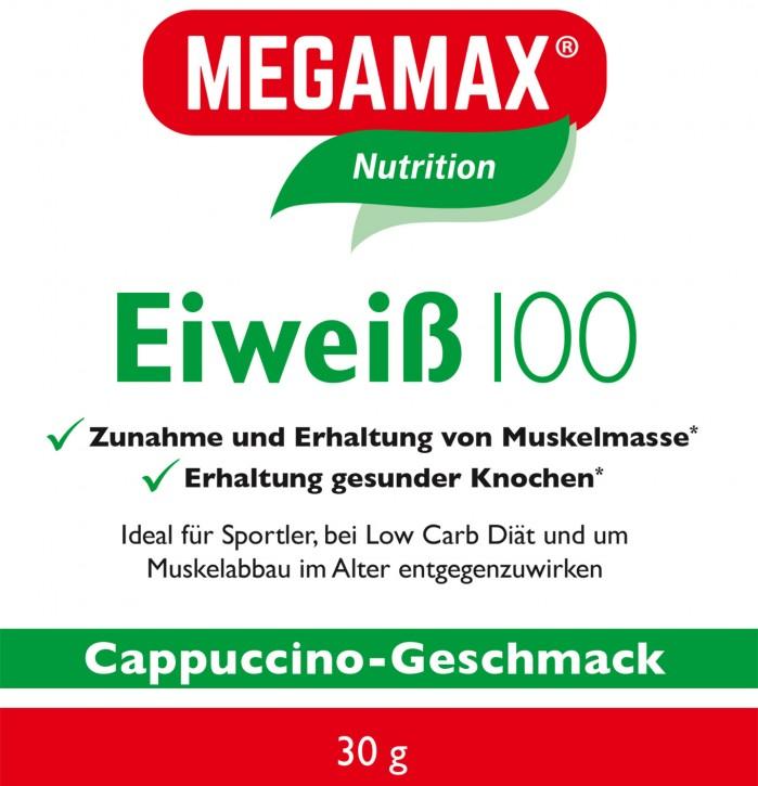 Eiweiß 100 Einzelportion Cappuccino 30g